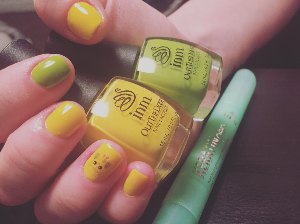 INM Nail Polish and Cuticle Oils Will Get you Out The Door