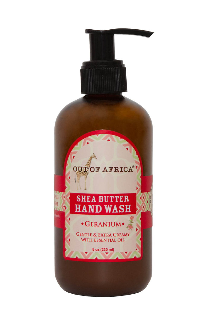 Out of Africa Geranium Shea Butter Hand Wash