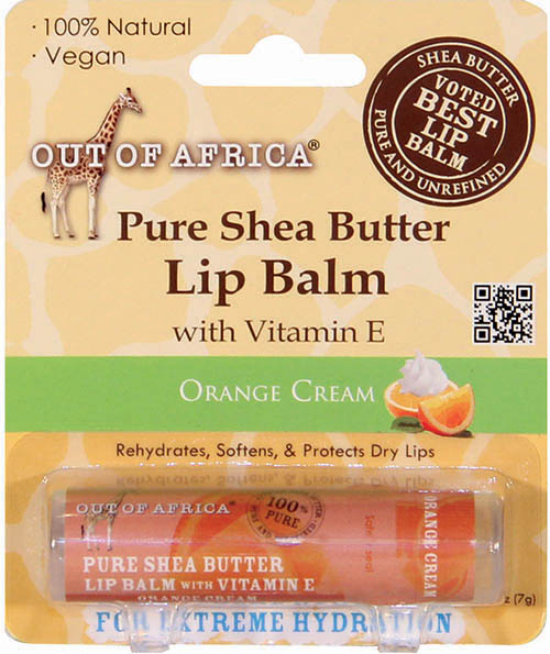 Out of Africa Orange Cream Lip Balm