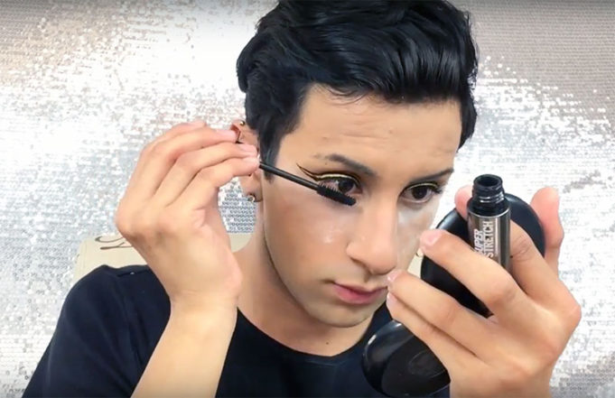 Gold Double Wing Makeup Tutorial MyTopFace
