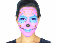 Sugar Skull Makeup Video Tutorial by CHIC Studios