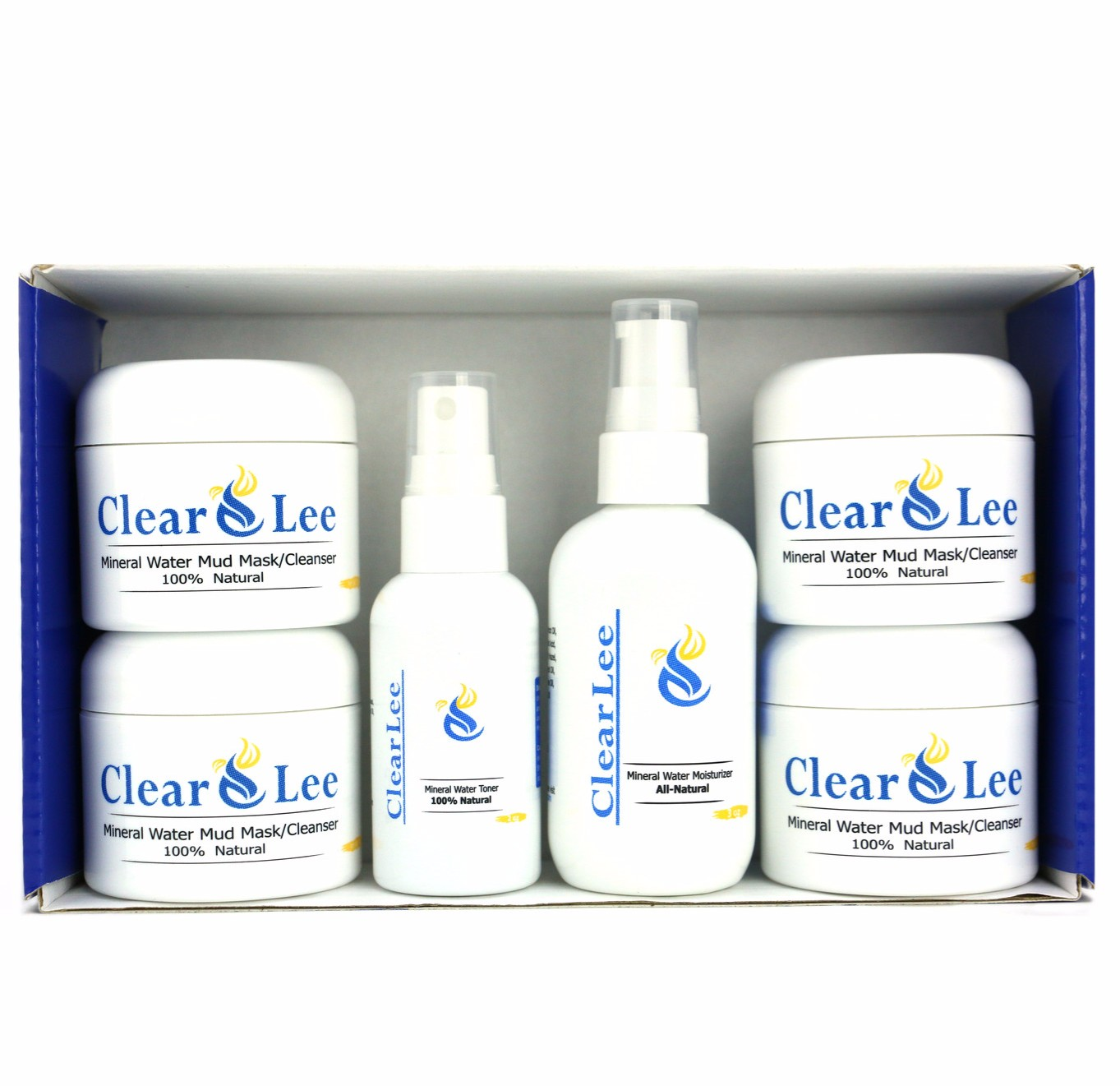 Clear Skin: ClearLee Mineral Water Cosmetics New Skin Care Line For You