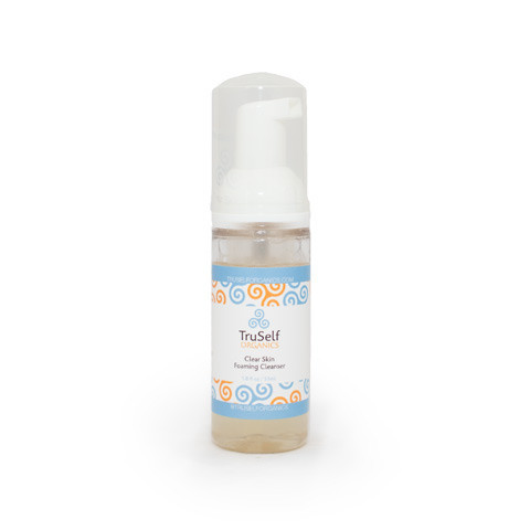 TruSelf Organics clear skin foaming cleanser