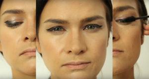 winged liner makeup