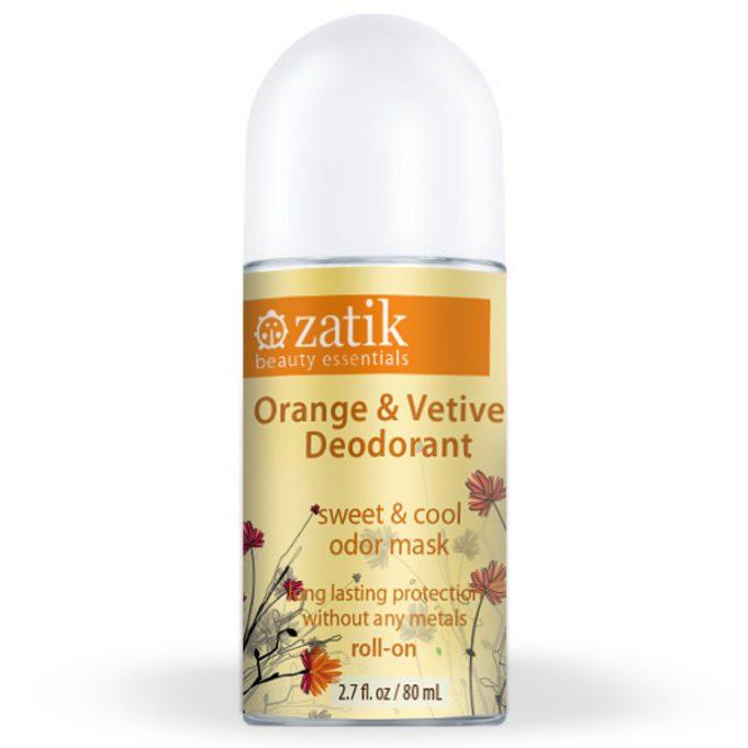 Zatik Orange & Vetiver Deodorant