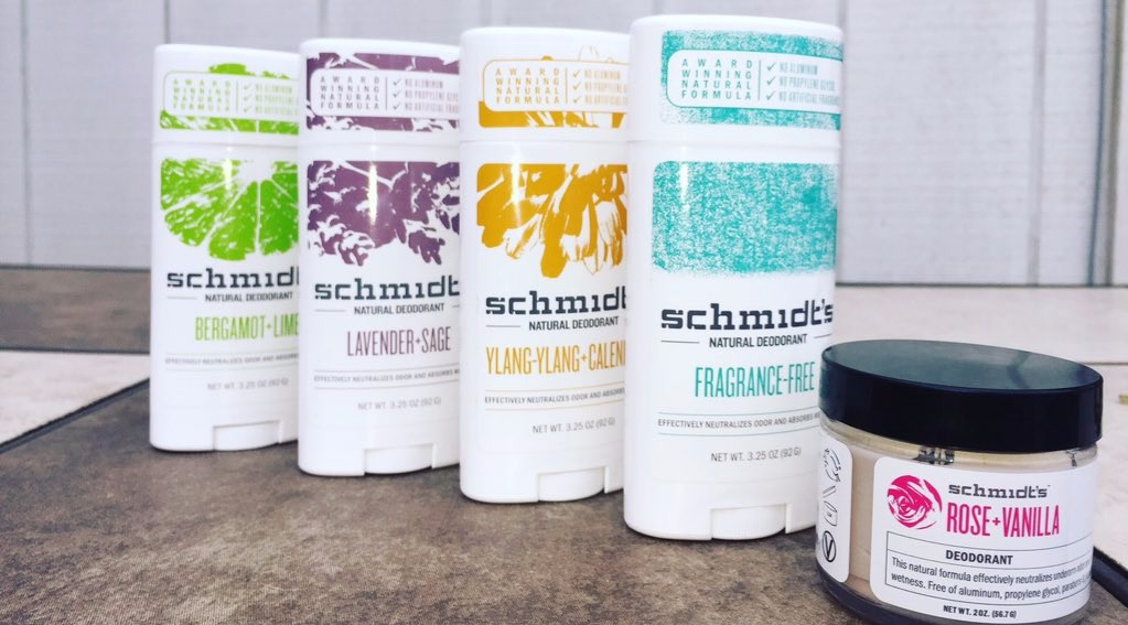 schmidts deodorant sticks