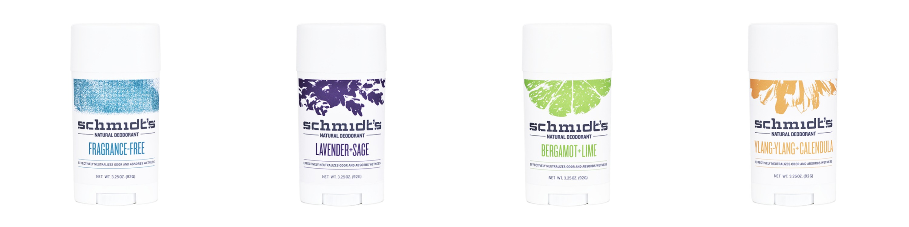 schmidts natural deodorant products