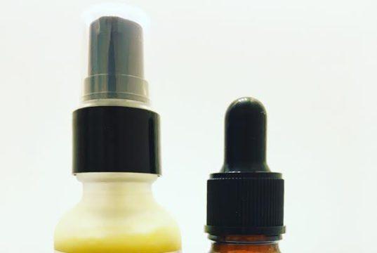 clarifying glow serum pamper urself green