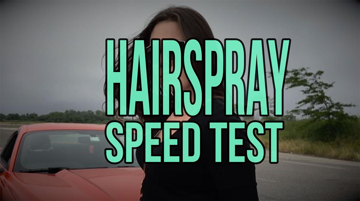 hårspray test