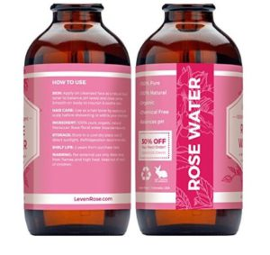 Leven Rose Witch Hazel Rose Water