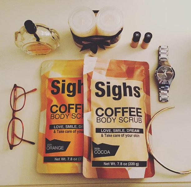 Exfoliate Your Skin with Sighs Coffee Body Scrub