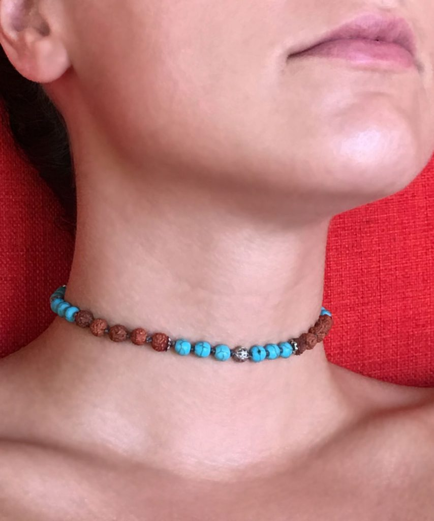 Zacasha Beaded Choker Necklace