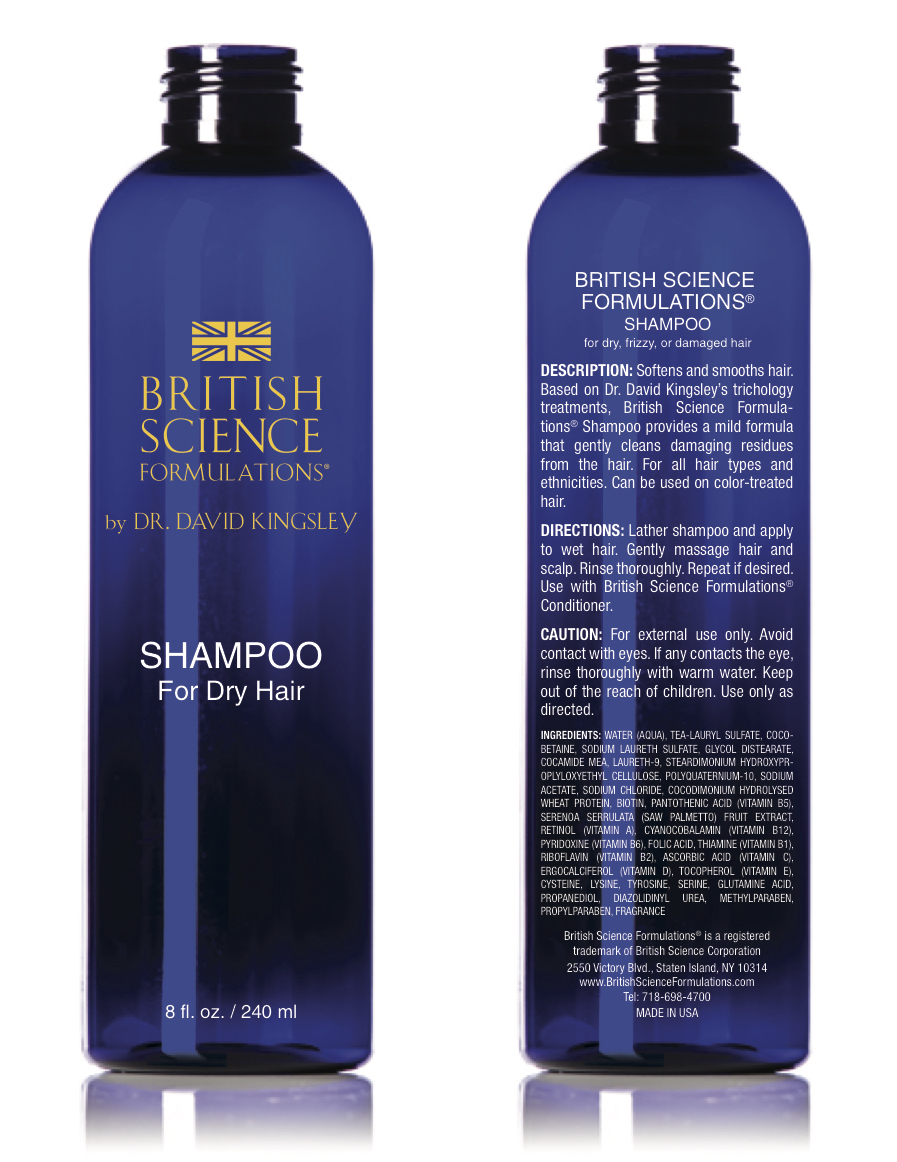 British Science Formulations Shampoo for Dry Hair