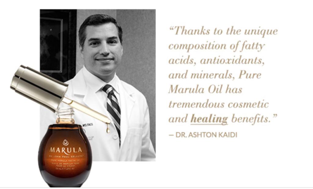 Plastic Surgery Healing Marula Oil