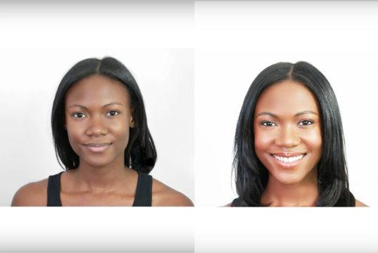 makeup tutorial dark skin tone and features