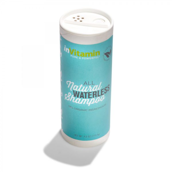 inVitamin waterless dry shampoo