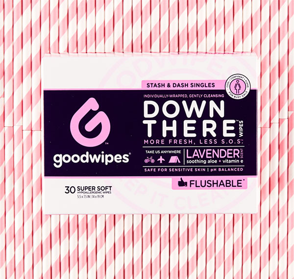 DOWN THERE WIPES FOR GALS