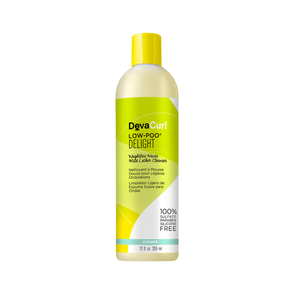 Devacurl LOW-POO Weightless Waves Mild Lather Cleanser