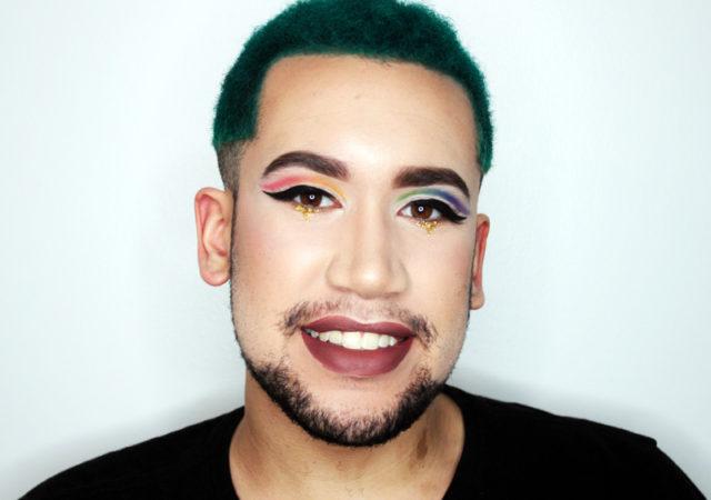 Gay Pride Rainbow Look Makeup Tutorial