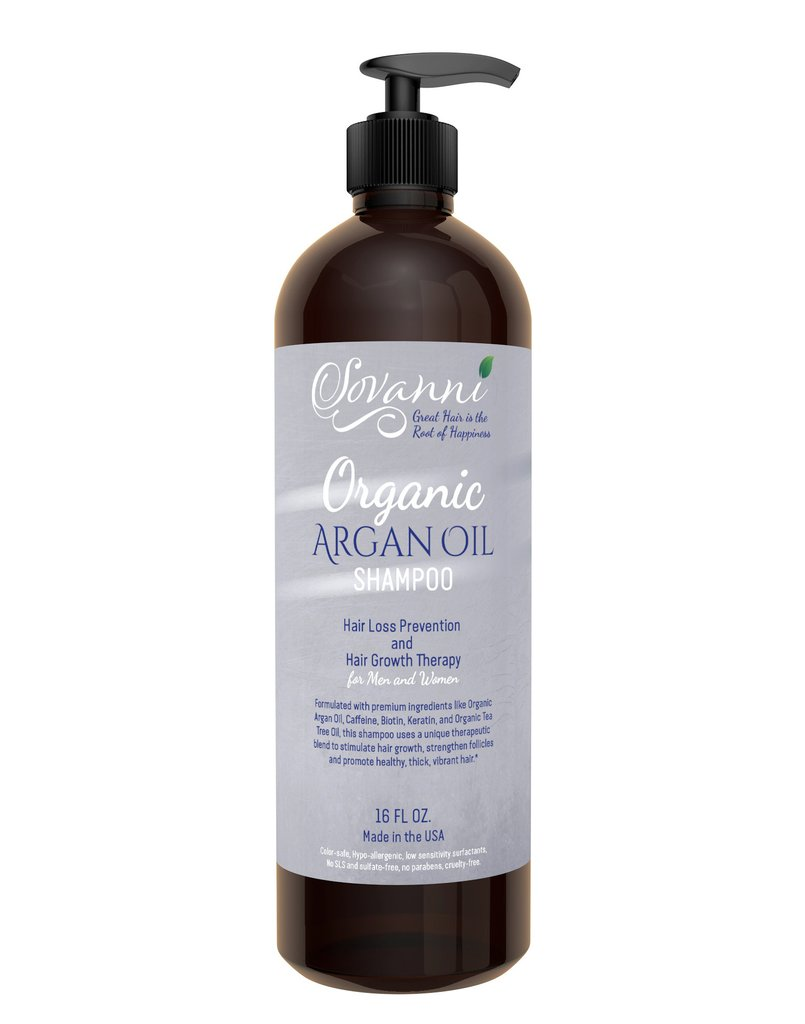 Sovanni Organic Argan Oil Shampoo