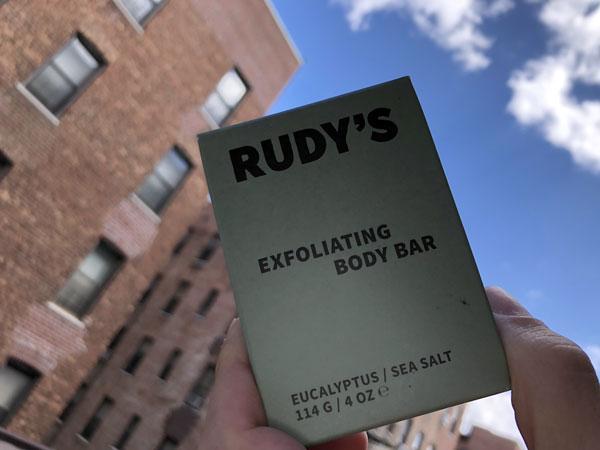 Rudy's Exfoliating Body Bar