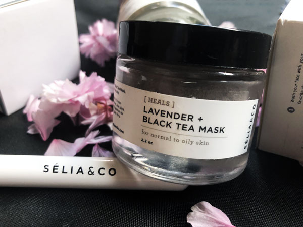 Selia and Co Lavender and Black Tea Mask