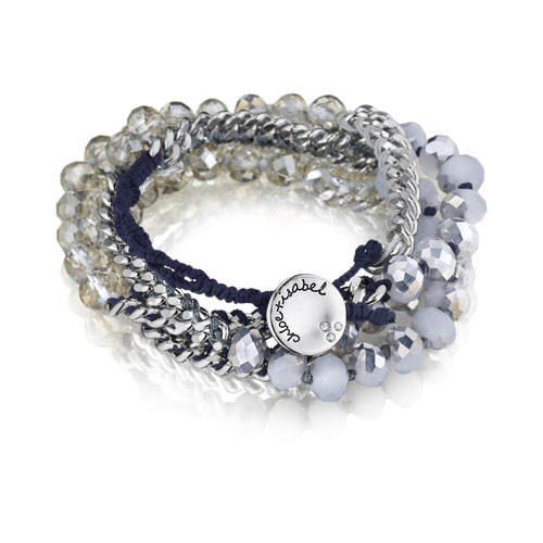 Bead + Chain Multi-Wrap Bracelet