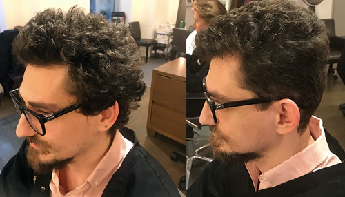 Pierre Michel Haircut
