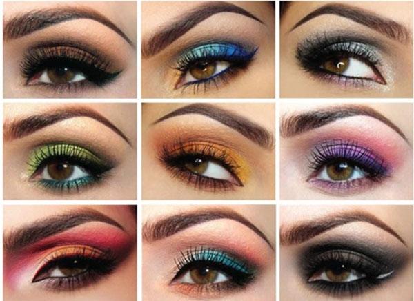 Brown Eye Makeup Colors Saubhaya