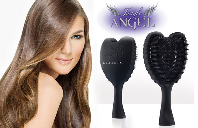 tangle angel detangling hair brush