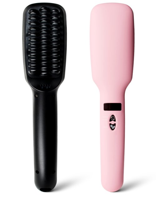 straightening hair brush straightfix