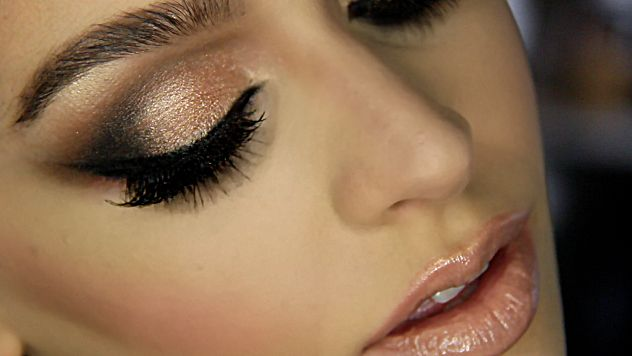 bronze smokey eye tutorial