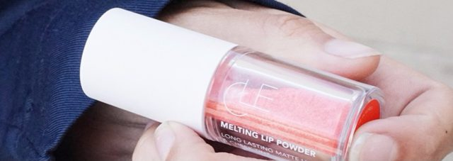 CLE Cosmetics Melting Lip Powder