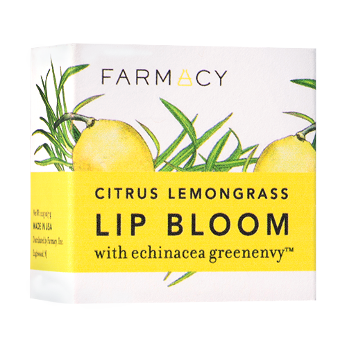 Farmacy beauty citrus lemongrass lip bloom