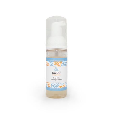 TruSelf Organics clear skin foaming cleanser