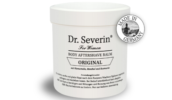 dr severin body aftershave balm