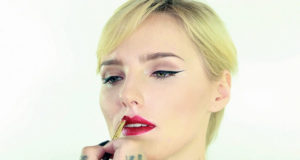 glitter lips tutorials chicstudios