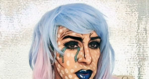pop art comic book makeup tutorial