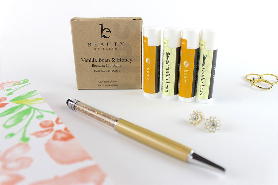 Beauty by Earth Vanilla Honey Lip Balm