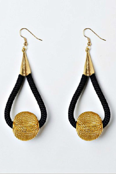 Tofara African Couture Earrings