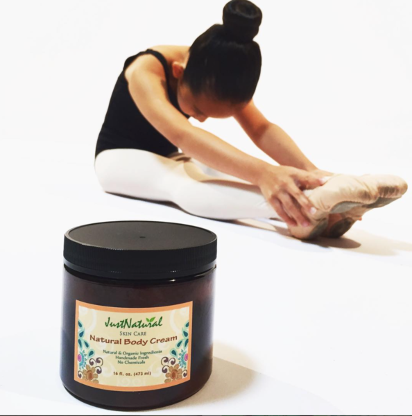 Just Nutritive Natural Body Cream