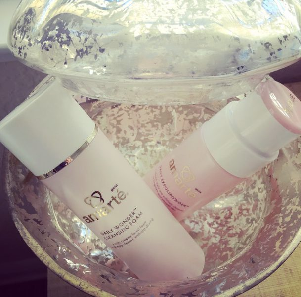 Amarté Daily Exfolipowder and Daily Wonder Cleansing Foam