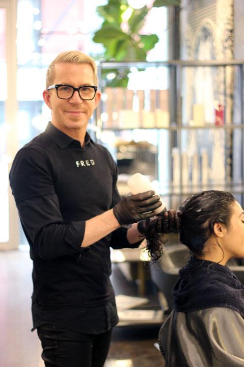 Fred Salon Olaplex Treatment