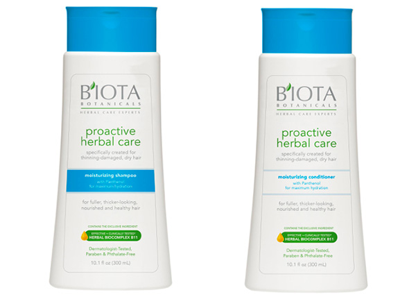 Proactive Herbal Care Smoothing Shampoo and Conditioner