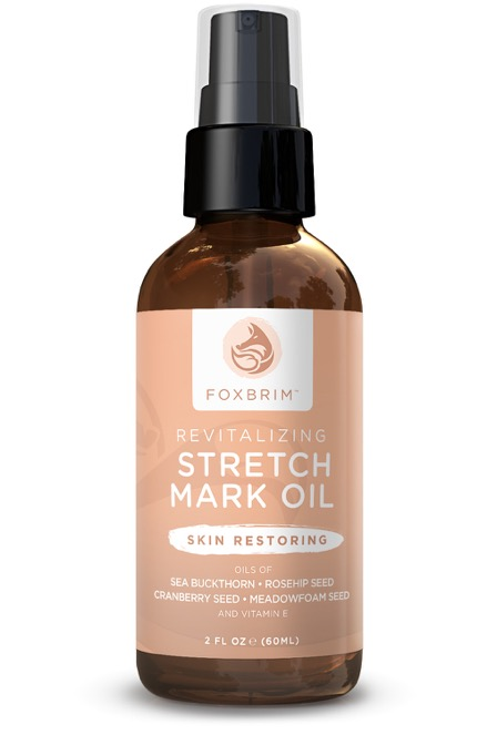 foxbrim revitalizing stretch mark oil