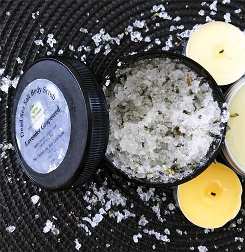 Bee You Organics Dead Sea Salt Body Scrub
