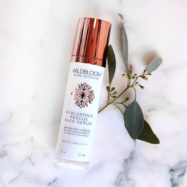 Wildbloom Hyaluronic Rescue Face Serum