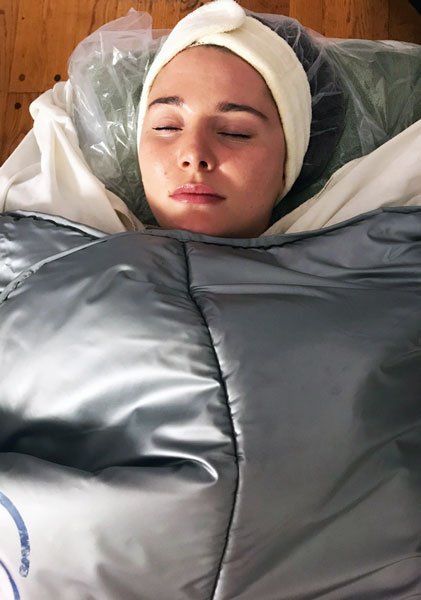 Susan Ciminelli Herbal Body Wrap
