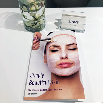 Zina Spa Simply Beautiful Skin Book