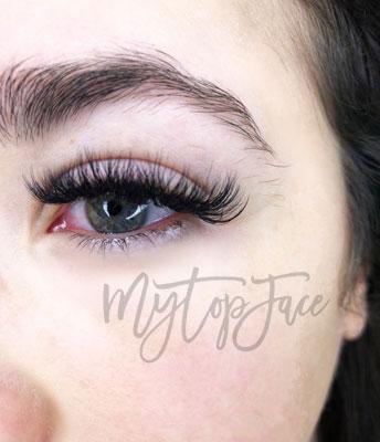 eye lashes extension
